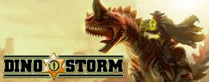 Dino Storm wallpaper by LacitheHunter