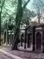 Tombe du Pere-Lachaise II by Thelema001