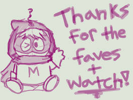 Mysterion Says Thanks by FlyingPrincess