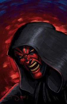 DARTH MAUL by DAVID-OCAMPO