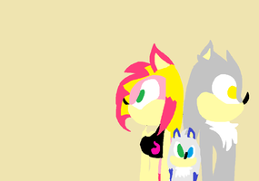 -Request-Laila, Silver, and Rodger Wallpaper by AriatheHeadgehog