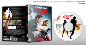 Knight and Day DVD Cover by yaxxe