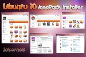 Ubuntu 10 IconPack Installer by JokerneB
