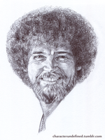 Bob Ross by characterundefined