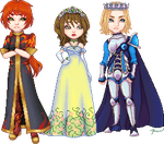 Minearian Royalty by Rythea