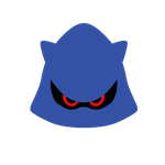 Vector Icon Classic Metal Sonic by Nibroc-Rock
