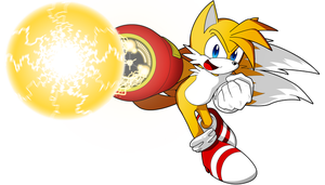 Tails Battle Mode by McKimson