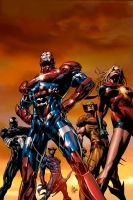 Dark Avengers 1,  2nd Print by Summerset