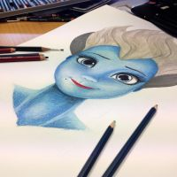 Ursula - Drawing in Progress by AtomiccircuS