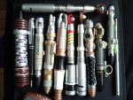 Doctor who prop screwdrivers + by Hordriss