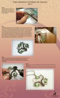 Tutorial wire wrap - Tree pendant - Part 2 by UrsulaJewelry