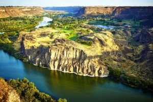 Snake River Canyon by CitizenFresh