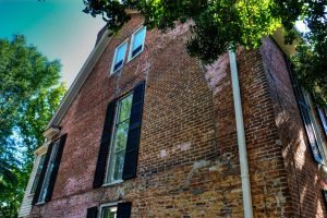 Mitchell Anderson House 1738 Oldest Structure by davidmcb