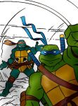 Leo and Mike by RaTamer