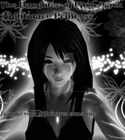 Nightmare Princess the daughter of Pitch Black by therealmavisdracula