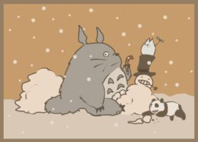let it snow by ravnen