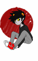 Karkat number dunno by Grey-win