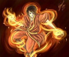 Zuko - The Fire Bender by sarumanka