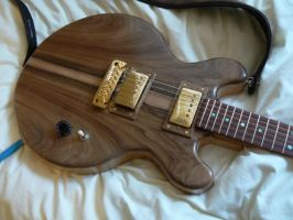 1st Guitar build by captivity87