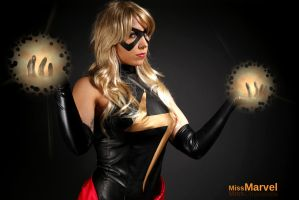 Marvel Comics - Miss Marvel by MissNoblesse