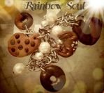 bracciale biscotti eperle bianche by rainbowsoulFIMO