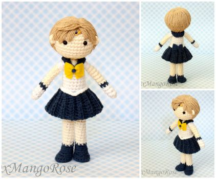 Sailor Uranus Amigurumi Crochet Doll by xMangoRose