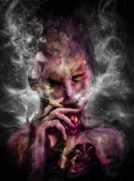 The Avid Smoker by DavidLau82