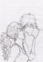 Jace and Clary by silverstarz5