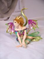 """Iphigeneia"" ooak dragon fairy by AmandaKathryn"