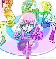 Vocaloid Girls by Toxic-Utahime