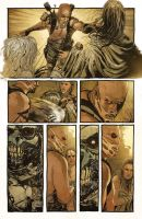 Mad Max: Fury Road - Furiosa #1 Page 5 by T-RexJones