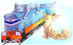 oh my train by Aniritak