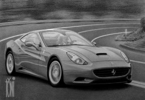 Ferarri California by toniart57