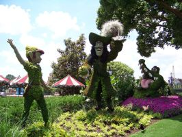 Peter Pan Topiary Plants by Dream-finder