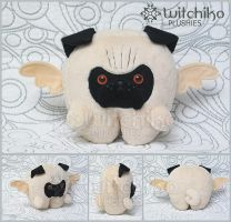 Pug Plush by Witchiko
