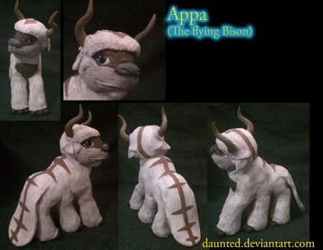 Appa Ooak MLP  Custom by daunted