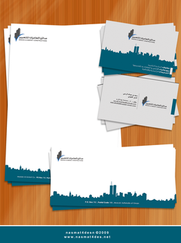 Madain Al.Amerat Stationery by nasmat4desn