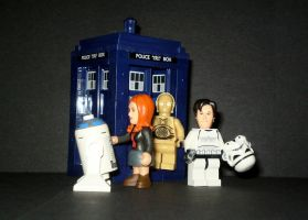 Doctor Who Star Wars by CyberDrone