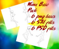 Winx Base Pack by Eleanor-Devil
