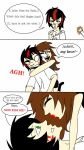 SkullAsh Genderbend Comic! by Saviour-Of-The-Fate