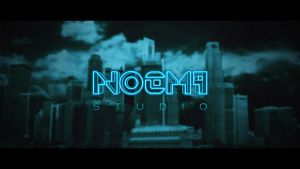 Tron Legacy Style typography by Noem9