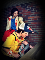 L4D2 - Danger Lurks Down The Rabbit Hole. by zombie-tea-party