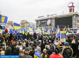 EuroMaidan rallies in Ukraine, Kiev, 2013 18 by mariakovalchuk