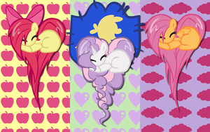 CMC Hearts WP by AliceHumanSacrifice0
