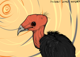 Nobody Likes Vultures by Loale