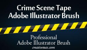 Crime Scene Tape AI Brush by Grasycho