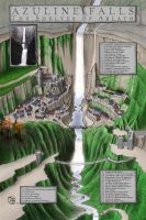 Azuline Falls: The Shelves of Arlath by XianPryde