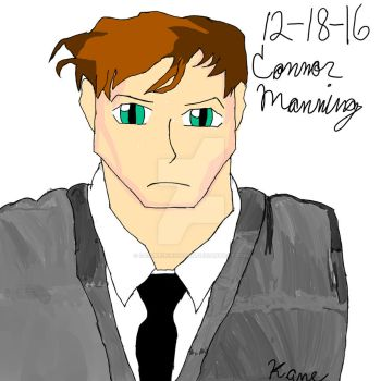 Connor Manning (Youtuber) by SasukeUchihaSan