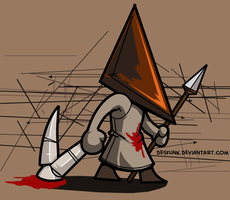 Pyramid Chibi Head by desfunk