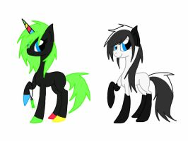 Hatched ponies! by Rainbow-ninja-adopts